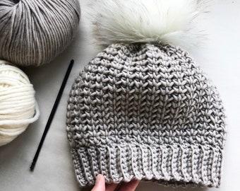 CROCHET PATTERN, The Remy Crochet Beanie Pattern, Crochet Hat Pattern, Crochet, Craft Supply, DIY Hat Pattern, Hat Pattern