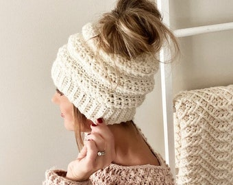CROCHET PATTERNS, The Jordy Hat and Mittens, Women's Hat and Mitten Pattern, Crochet Pattern