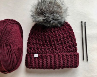 b5afd431256 Crochet beanie