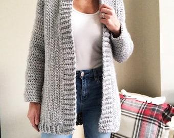 Crochet Sweater Etsy