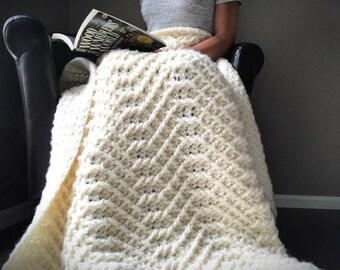 Crochet Afghan Pattern The Gray Skies Afghan Crochet Blanket Etsy