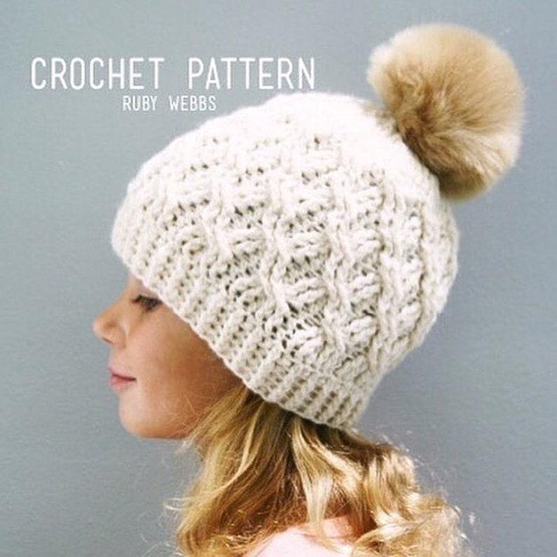 5fc5fde9798 CROCHET PATTERN The Cadence Crochet Hat Pattern Crochet Hat