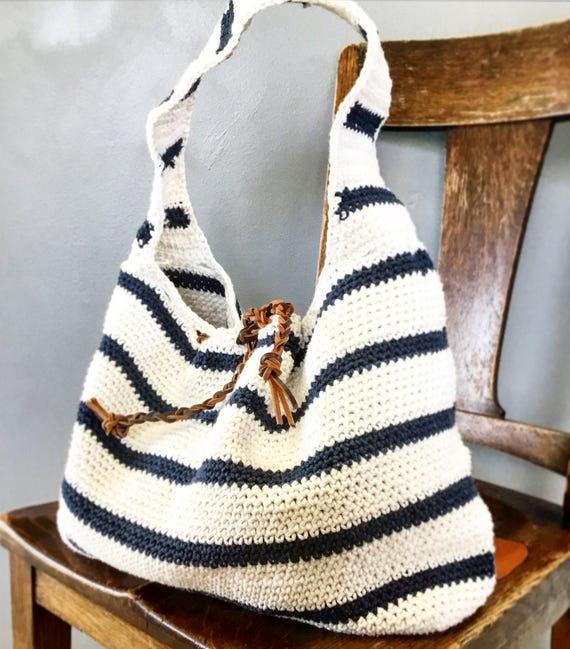 Crochet el bolso patrón el patrón de bolso de ganchillo de | Etsy