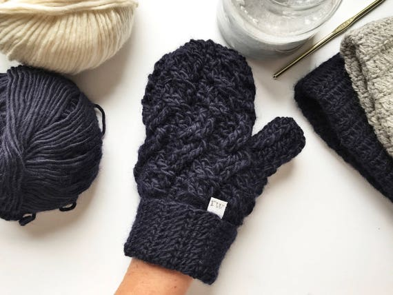 Häkelanleitung häkeln Handschuh-Muster die