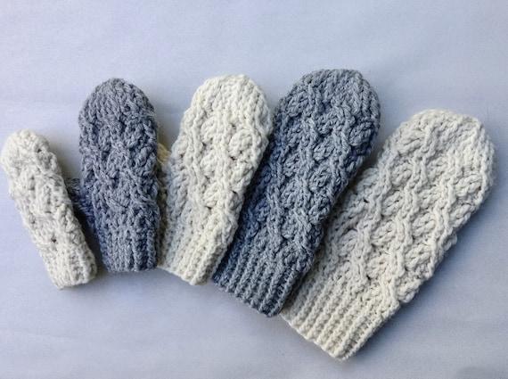 Häkelanleitung häkeln Handschuh-Muster die Kadenz | Etsy