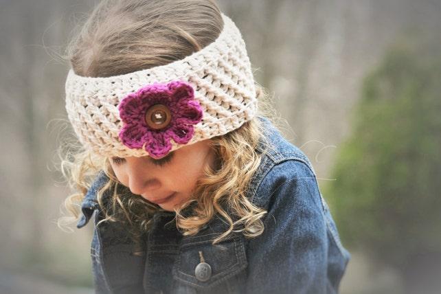 Häkeln Sie Muster häkeln Sie Stirnband Muster Herbst Blossom | Etsy
