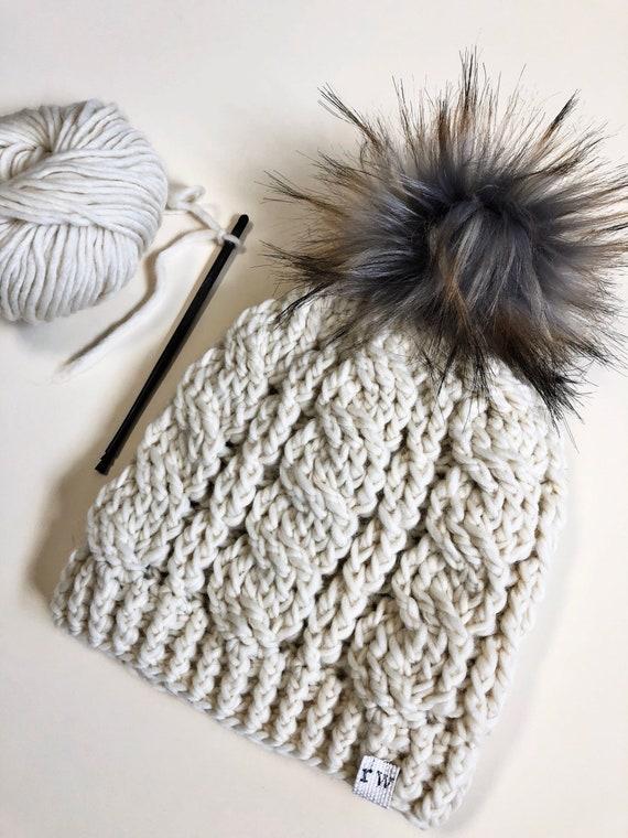 Crochet Hat Pattern Crochet Pattern Winter Woven Crochet Hat  111e72dbea01
