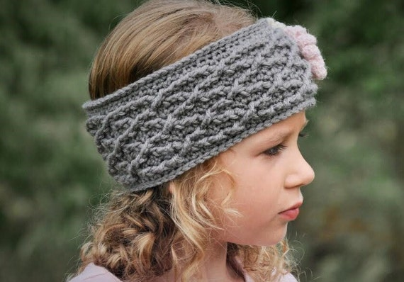 Crochet Headband Pattern Crochet Pattern The Carys Cabled Etsy