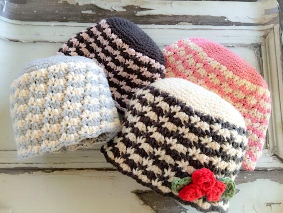 Crochet Hat Pattern The Hadley Crochet Hat Pattern in 4  acad71a78380