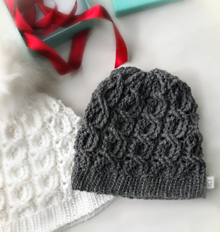 996138f594c CROCHET PATTERN The Brinley Crochet Hat Pattern Crochet Hat