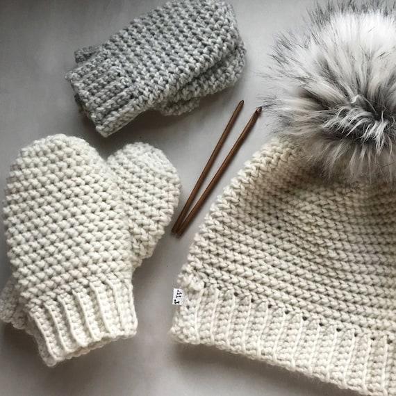 Au Crochet Modèle Le Voyage Mitaines Mitaines Au Crochet Etsy