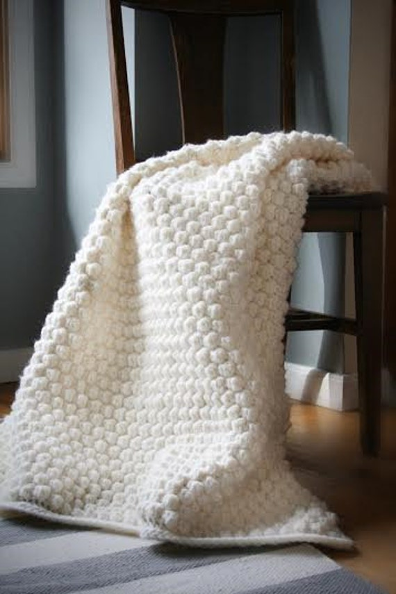 Häkeln Sie afghanische Muster Gretchen Afghan Decke | Etsy