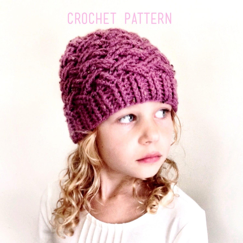 d8bd7d78e00 CROCHET PATTERN The Annsley Crochet Hat Pattern Crochet Hat