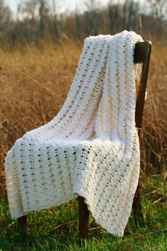Häkeln Sie Muster die Nancy Afghan Decke Muster werfen | Etsy