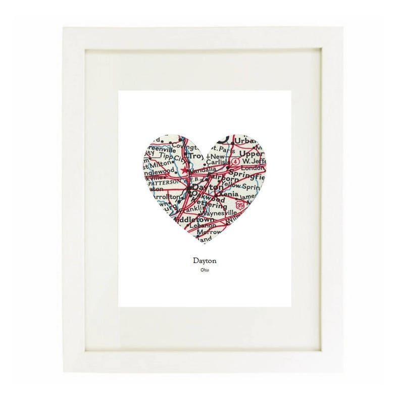 Print Only NO Frame Siblings Because I Have A Sister I/'ll Always Have A Friend Heart Map Art Print You Pick Cities And Personalized Text