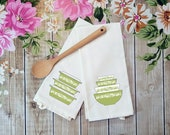 Pyrex Inspired Spring Blossom Duo Tea Towels