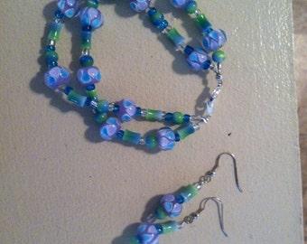 Bodacious (Matching Bracelet and Earring Set)