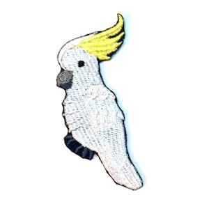 Punk Cockatoo Clothes Patch