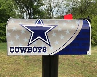 Dallas Cowboys Themed mailbox