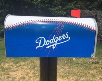 LA Dodgers Mailbox