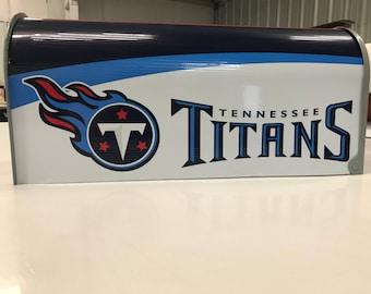 Tennessee Titans Mailbox