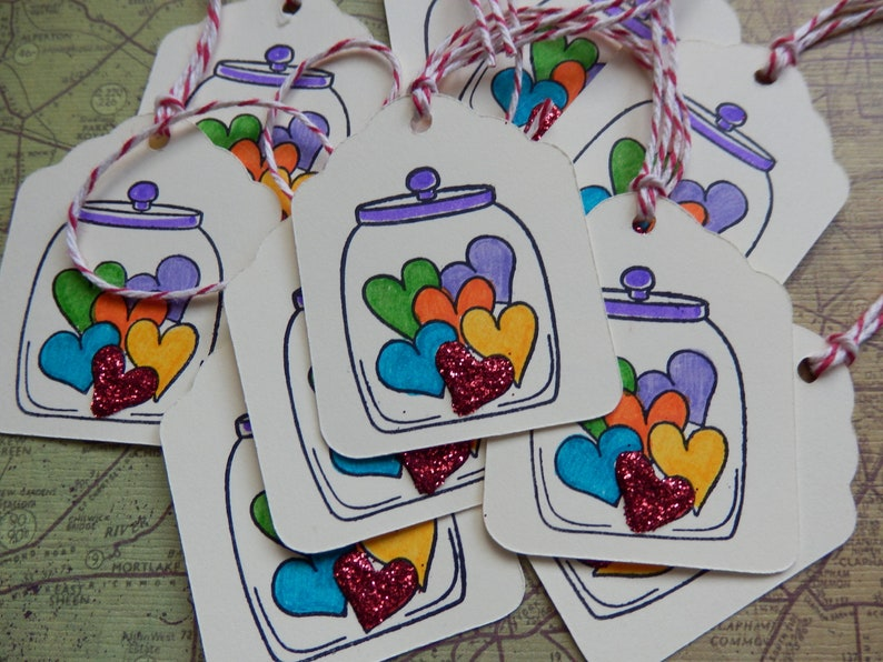 8 Thank you GiftHang tags Balm of Friendship Friendship Tags
