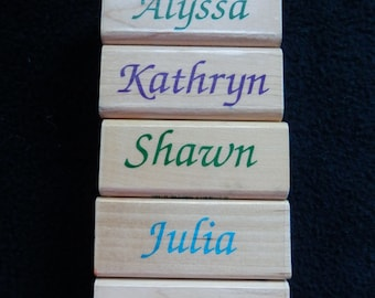 Name Stamp - You Choose - WM Rubber Stamp (1)