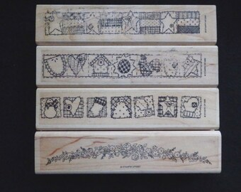 Border Stamps - Stampin Up - WM Rubber Stamp ( You choose 1)