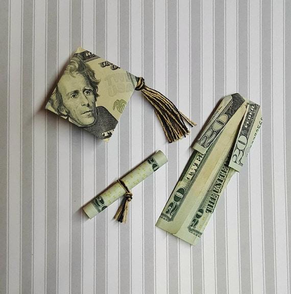 Money Mortarboard - Make-Origami.com | 576x570