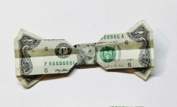 Money Origami Bow - A Beautiful Christmas Origami Gift | Origami ... | 345x570