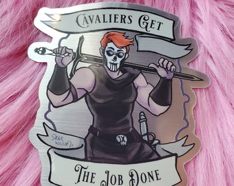 Sticker: cavaliers get the job done
