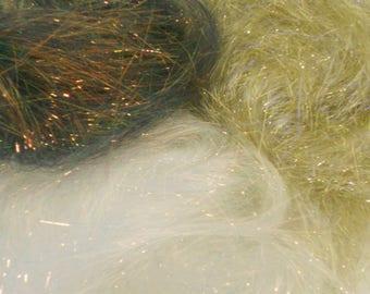 Hot Fix Angelina Fibres - Gold, Copper, Pearl (20 gms)