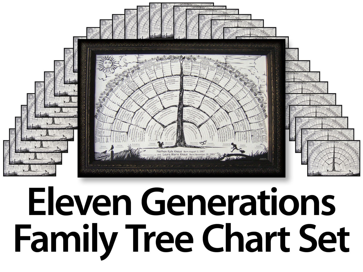 It's just an image of Clever Blank Genealogy Chart