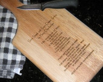 typed recipe cutting board - 570×428