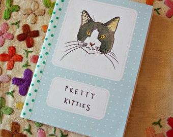 Pretty Kitties Cat Art Zine