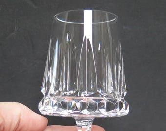 Beautiful Crystal Cordial stem glasses Set of 6