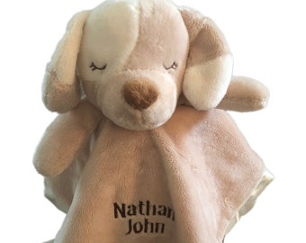 personalized do Lil' snuggler, dog blankie, dog with name, dog blanket, dog security blanket, personalized gift, baby shower gift