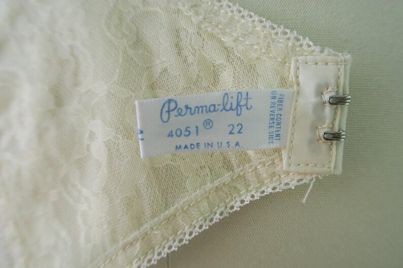 DEADSTOCK 1960s Perma-lift Lace Garter Belt  Vintage Bridal Lingerie