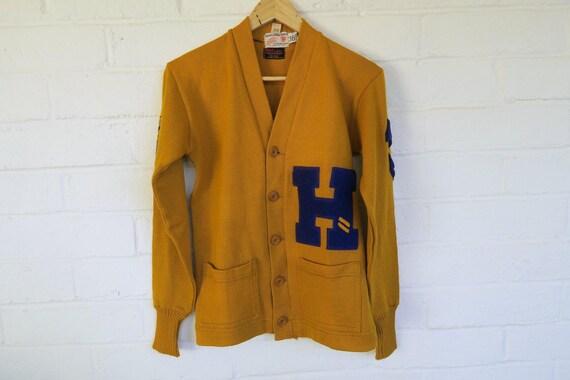 DEADSTOCK 1940s Wilson Letter Sweater / Vintage Ye