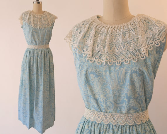LILLY PULITZER 1960s Maxi Dress / Vintage Designer
