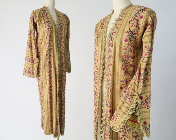 Antique Ottoman Entari Robe / Traditional Turkish