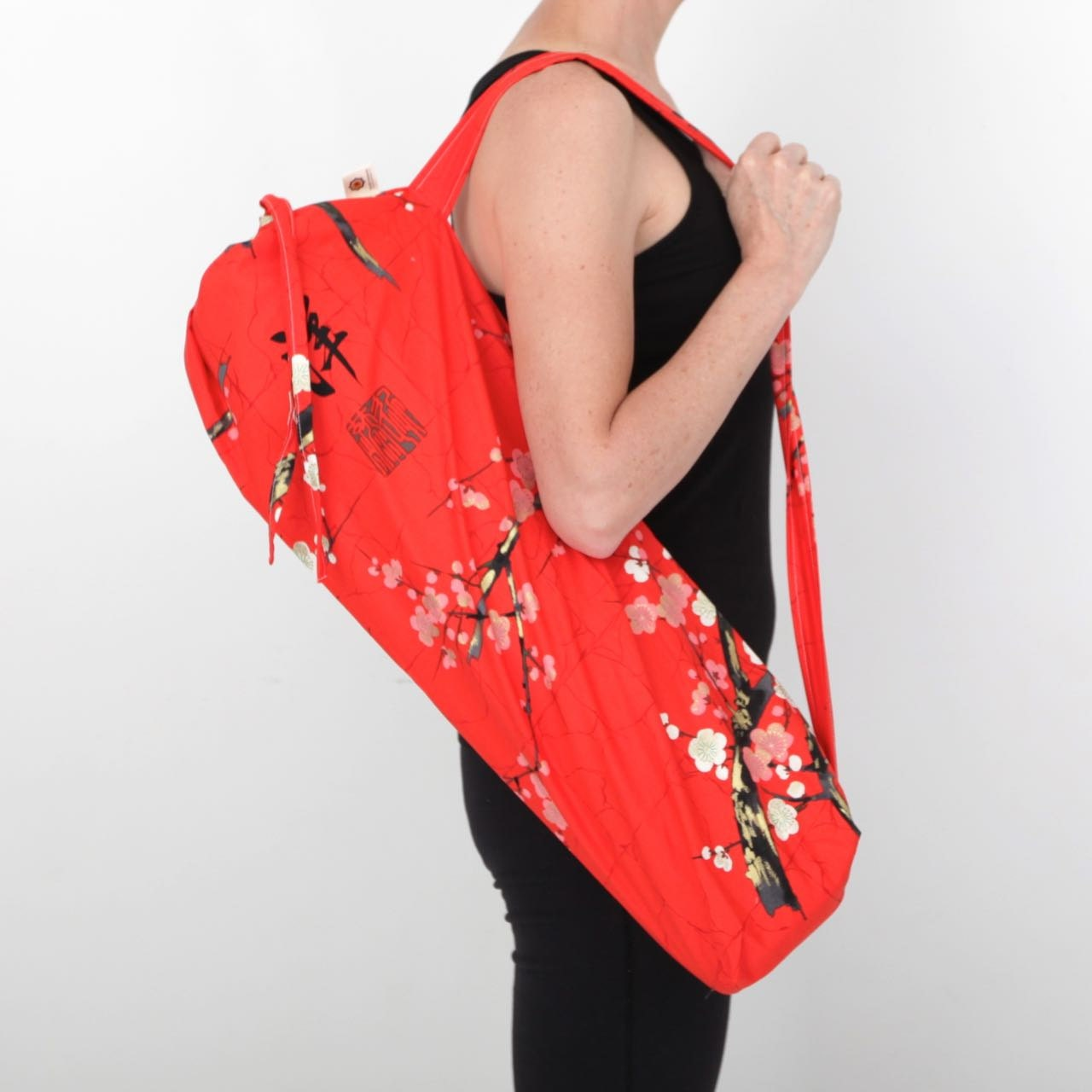 Yoga Mat Bag Pilates Mat Carrier Hot Yoga Drawstring