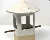 Stoneware Bird Feeder, Ce...