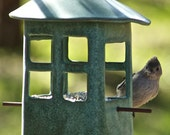 Pottery Bird Feeder-Potte...