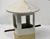 Stoneware Bird Feeder, Ce...