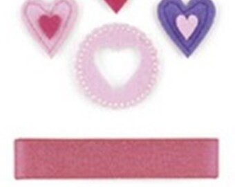 KaiserCraft -- Embellishment Pack -- Made with Love Collection--  NEW  (#132)