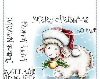 Whimsy Stamps -- Fleece Navidad -- NEW -- (#2547)