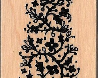 Christmas Tree -- NEW -- Wood Mounted Rubber Stamp --   (#2970)