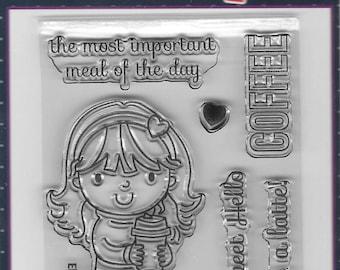 Your Next Stamp -- Ellie Loves Lattes -- NEW -- (#2578)
