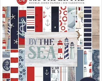 6 x 6 Paper Pad ~ By The Sea ~ Double sided NEW (#3726)